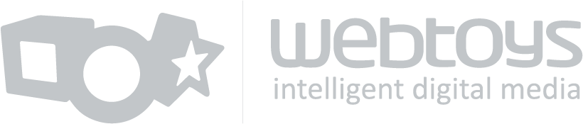 Webtoys - Intelligent Digital Media