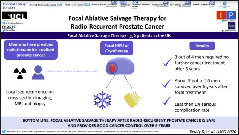 Radio recurrent prostate cancer
